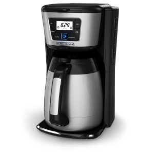 Best BLACK+DECKER 12-Cup Thermal that keeps coffee hot