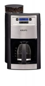 Best KRUPS Grind and Brew Coffee maker with built in grinder